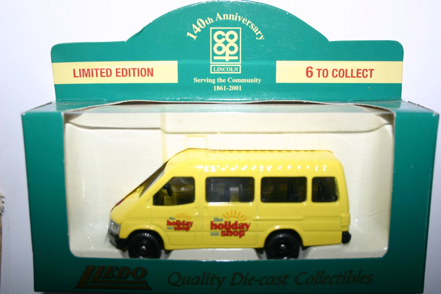 Lledo Co-Op 140th Anniversay The Holiday Shop Collectors Model