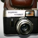 Vintage Collectors 1961 Voigtländer Vitoret Camera With Vaskar 2,8/50 Lens
