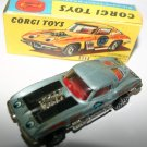 Corgi Toys 337 Customized Chevrolet Corvette Sting Ray Lazy Bones Rare Version