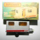 Matchbox 31 Caravan Vintage Collectors Model