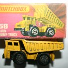 Vintage Matchbox 58 Faun Dump Truck With Box