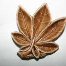 Vintage Wade Porcelain Leaf Dish