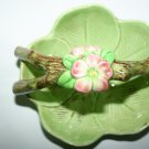 Antique Vintage SylvaC Pottery Floral Bowl Rare Design