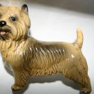 Vintage Yorkshire Terrier Pottery Dog Made In England