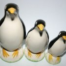 Three Pottery Penguins Rare and Vintage Antinque