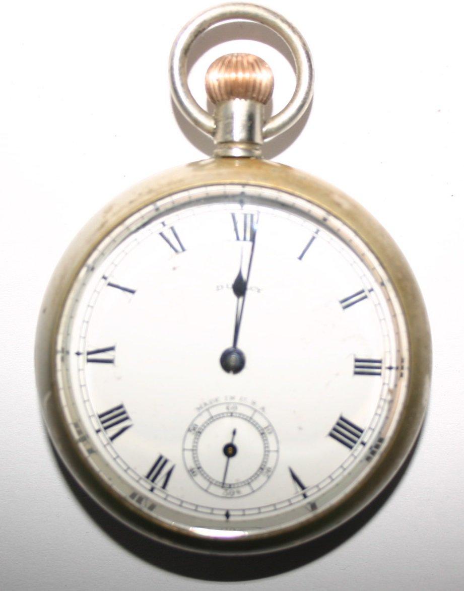 Duracy Pocket Watch Rare Vintage Antique Art Deco Era