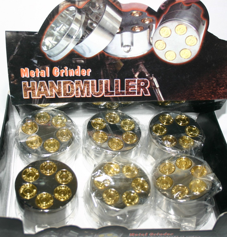 Herb Grinder Handmuller Six Shot Gun Barrel Very High Quality
