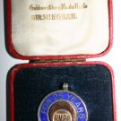 Rare BM&Co Brunner Mond 25 Years Service Gold and Silver Medal Hallmarked