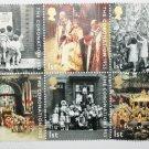 Mint Stamps Set Commemorating Queen Elizabeth 1953 Coronation British Philatelic