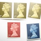 Vintage Collection Of Queen Elizabeth Pre-Decimal Stamps Great Britain