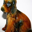 Vintage Arthur Wood Pottery Afghan Hound Dog Figurine