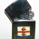 Classical Styled Petrol Lighter With England Three Lions Motif