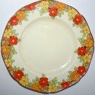 Antique Crown Ducal Happy Days Porcelain Plate Design 2545