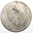 Zud Afrikaansch Republiek Silver 1894 2 1/2 Shillings Rare Collectors Coin