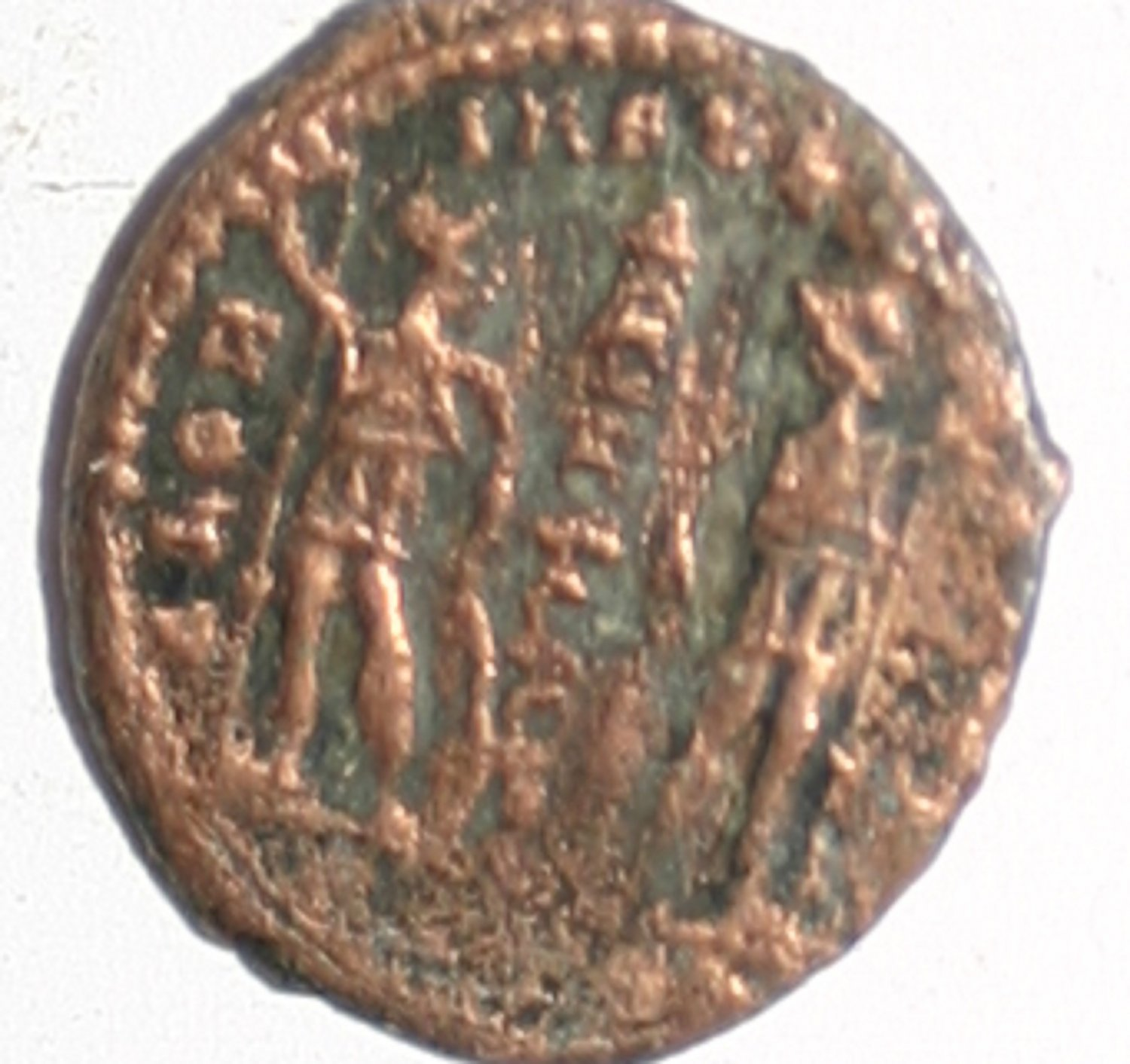 Roman Imperial Constantine II AE4 of Alexandria. AD 337 Coin