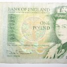 Banknote Bank of England 1 Pound Note 1981 signed by D. H. F. Somerset