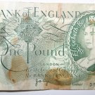 anknote Bank of England, 1 Pound Note 1975 Signed by J. B. Page