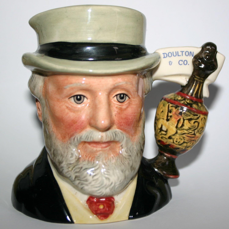 Sir Henry Doulton D7057 Royal Doulton Collectors Club Rare Toby Character Jug