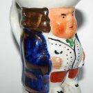 Vintage Staffordshire Porcelain Toby Character Jug