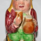 Vintage Classic Toby Character Jug Figure Made In Stafforshire England