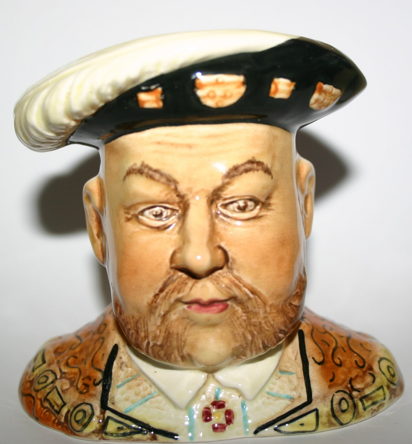 Henry VIII Character Toby Jug By SylvaC Pottery Collectors Item