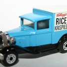 Matchbox Model A Ford Kellogg's Rice Krispies Delivery Van 1979