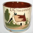 Ilfracombe Fresh Today Small Pottery Egg Cup Watcombe Mottoware