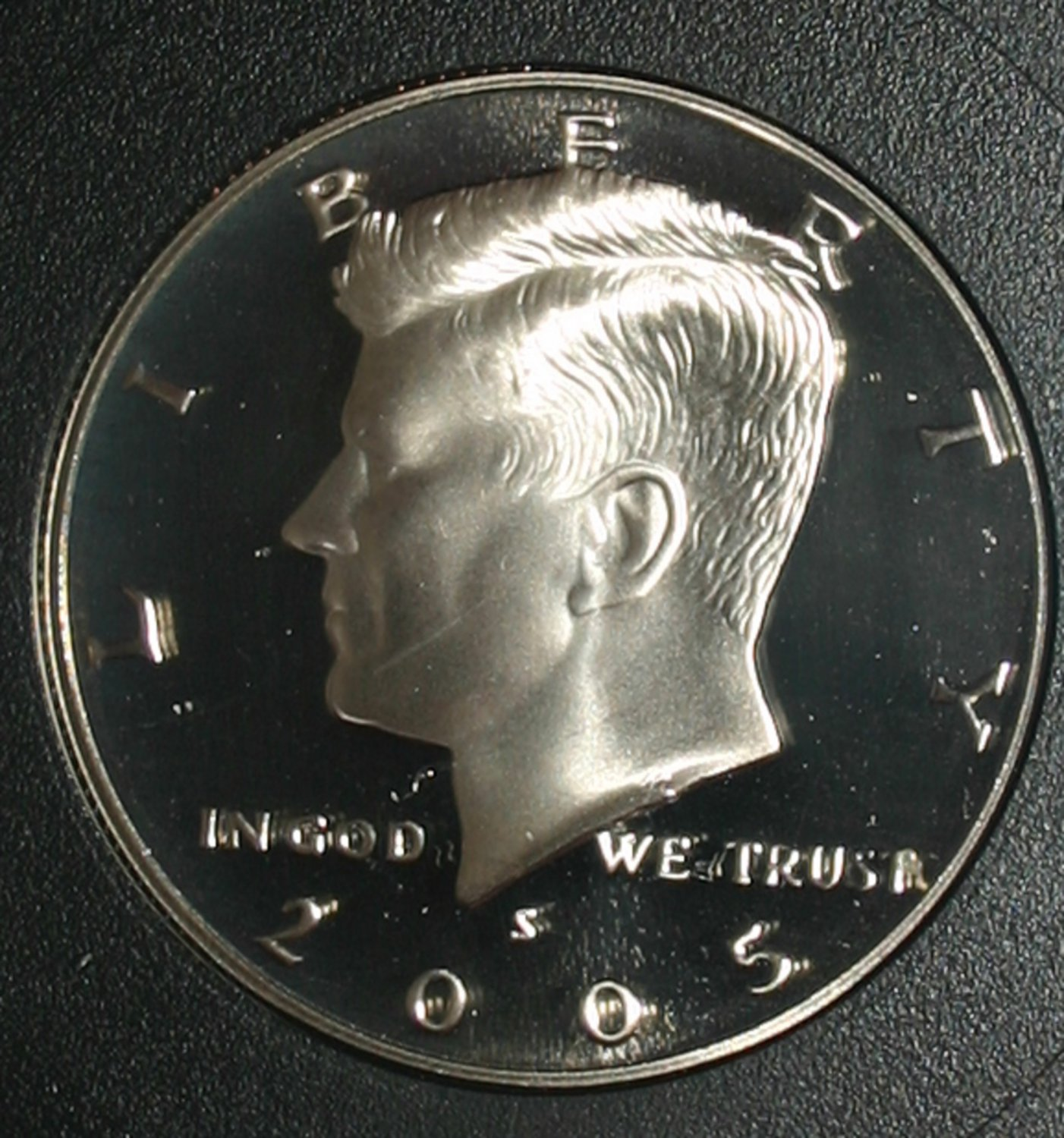 USA 2005-S Kennedy 50c Half Dollar Liberty Cameo Full Strike INB Certified Coin