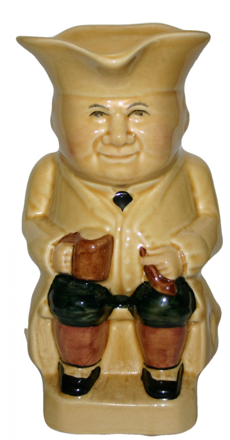 Classical Vintage Toby Jug Fine Ceramic Made In Staffordshire England
