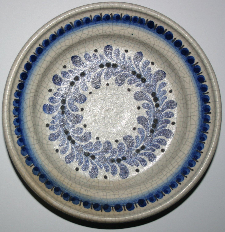 Gmundner Keramik Innsbruck Austria Handmade Plate Wall Collectors Design