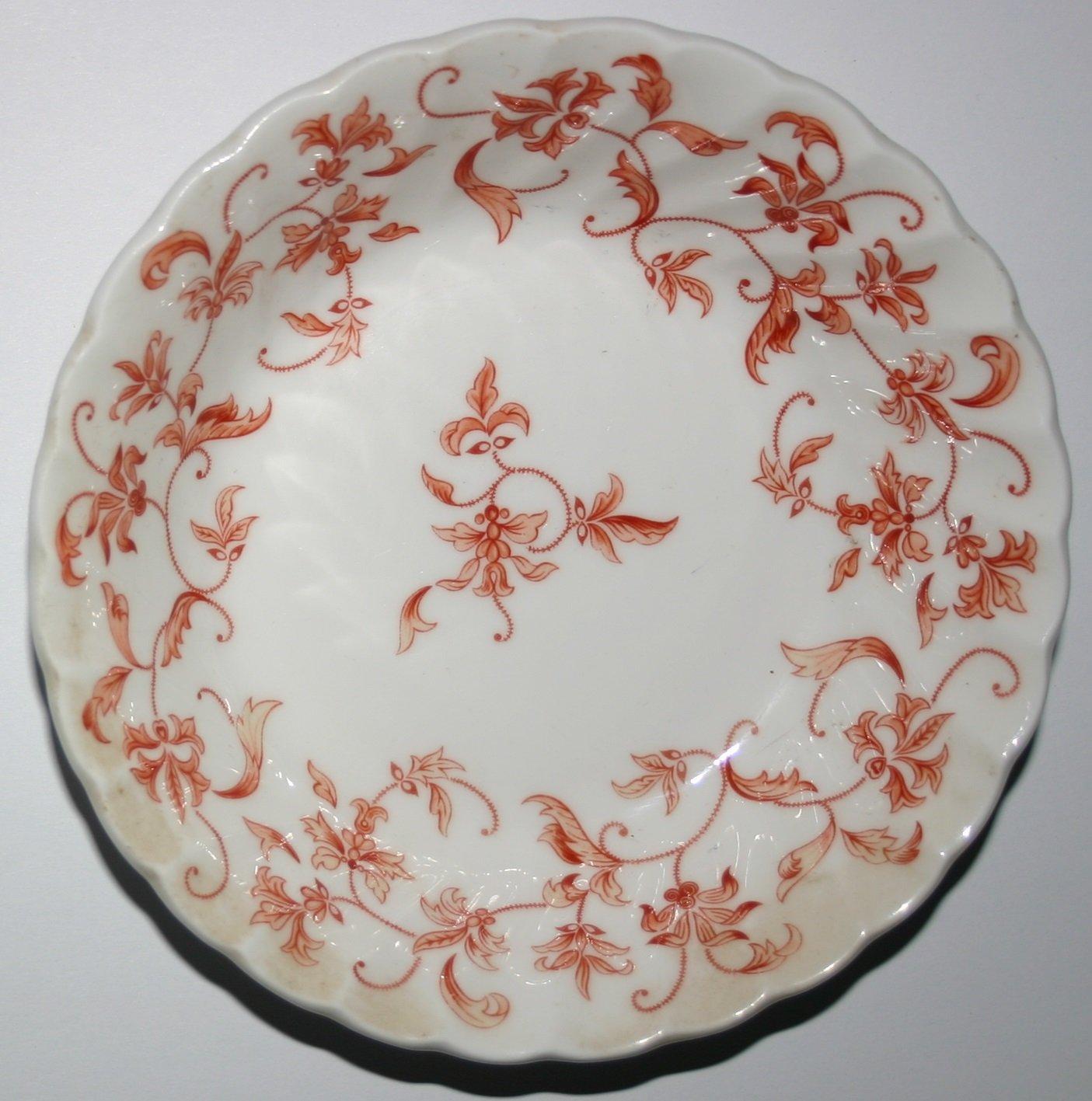 Aynsley Madrigal Terracotta Design Fine Bone China Vintage Dish Collectors Item