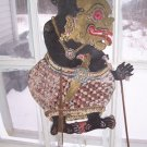 ANTIQUE WAYANG KULIT SHADOW PUPPET #9 CARIBOU HIDE 1930&#39;S 50 % OFF +