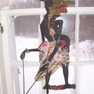 HUGE ANTIQUE WAYANG KULIT SHADOW PUPPET # 10 CARIBOU HIDE 1930&#39;S OVER 50 % OFF