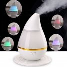 USB Air Diffuser Ultrasonic Home Aroma Diffuser Humidifier Purifier Atomizer 200ml(color:white)