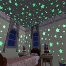 100Pcs/Lot Wall Stickers Glow in The Dark Decal Kids Bedroom Decor Color Stars Luminous Stickers