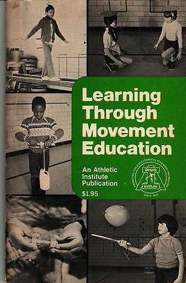VINTAGE KIDS BOOK Learning Through Movement Education An Athletic Institute Publ