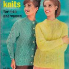 VINTAGE KNITTING MAGAZINE Cable Knits For Men and Women Vol. 78