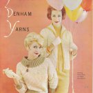 VINTAGE KNITTING MAGAZINE California Originals Pauline Denham Yarns Book 8