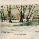 VINTAGE BOOK 52 Reproductions of Watercolor Paintings by Paul N. Norton