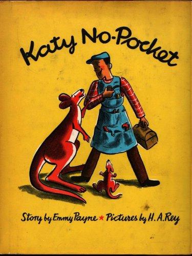 Katy No-Pocket First Edition - Emmy Payne - H. A. Rey - 1944 - Vintage Book
