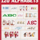 120 Alphabets Leisure Arts Leaflet 2285 - 1992 - Vintage Craft Book