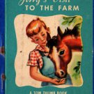 Jerry's Visit to the Farm a Tom Thumb Book - 1949 - Vintage Kids Book