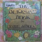 The Quicksand Book - Tomie de Paola - 1977 - Vintage Book
