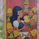 Snow White and the Seven Dwarfs Board Book - Renzo Bartolomucci - Vintage Kids Book
