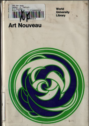 Art Nouveau World University Library - S. Tschudi Madsen - 1967 - Vintage Art Book