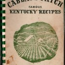 Cabbage Patch Famous Kentucky Recipes - 1972 - Vintage Cook Book