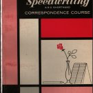 Speedwriting ABC Shorthand Correspondence Course Volume One - 1966 - Vintage Text Book