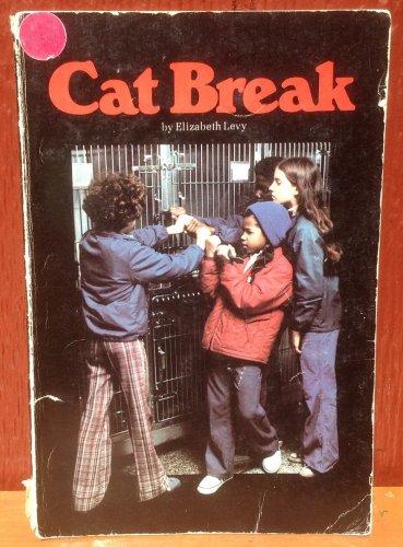 Cat Break - Elizabeth Levy - Norma Holt - 1976 - Vintage Kids Book