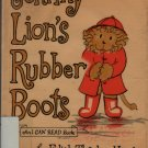 Johnny Lion's Rubber Boots - Edith Thacher Hurd - Clement Hurd - 1972 - Vintage Book