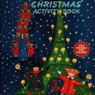 Madeline Christmas Activity Book w/ Reusable Vinyl Stickers - Ludwig Bemelmans (1998) Vintage Kids